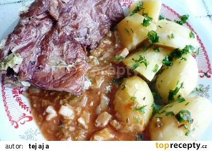 3 v 1 (uzené, brambory, zelí)