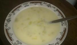 Pórkovo-sýrová polévka