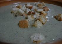 Žampionovo-brokolicový krém