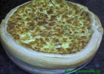 Pórkovo-cibulový koláč