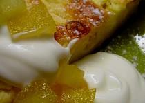 Jablkovo-tvarohový koláč