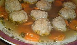Masovo - sýrové knedlíčky do polévky
