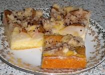 Hruškový koláč z drobenky