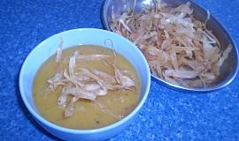 Petrželová polévka se sladkými brambory