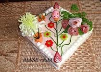 Slaný dort -  s prasetem