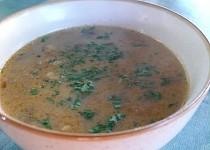 Bakoňská houbová polévka