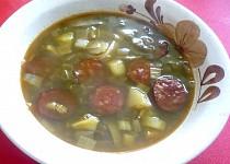 Čočková polévka s tykví