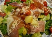 Salát - vzpomínka na Itálii