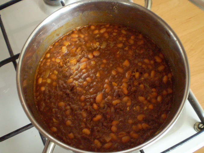 Uvařené chilli con carne