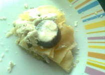 Okurkové lasagne s riccotou