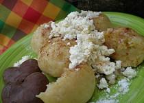 Knedlíčky z jablko-bramborového těsta