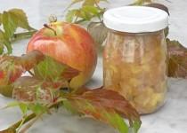 Jablečný džem jako pochoutka