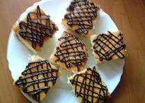 Kokosový sen s borůvkovou marmeládou