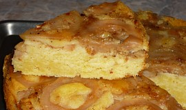 Obrácený koláč s jablky