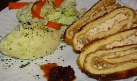 Omeletová roláda