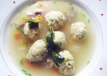 Jíškové knedlíčky do polévky-chutné