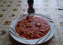 Fazolová chilli pánev
