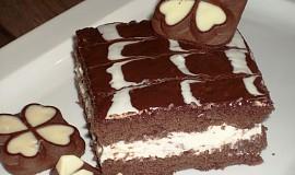 Kakaové řezy s čokoládovou polevou