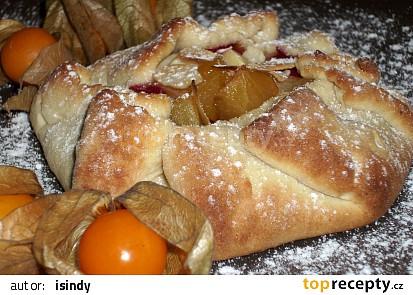Medové koláčky s ovocem