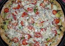 Pizza s novými bramborami