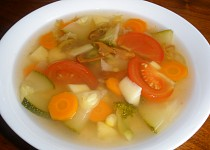 Zeleninový hrnec (dietní polévka)