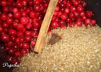 Kořeněné brusinky s přírodním cukrem