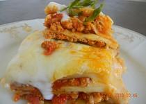 Lasagne s vepřovým masem