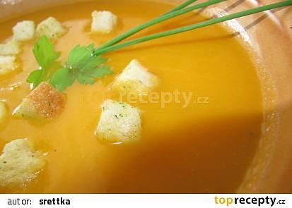 Rychlá mrkvičková krémová polévka