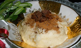 Kořeněná krupice s čokoládou