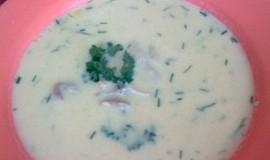 Kuřecí kari polévka se smetanou