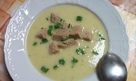 Krémová polévka z brambor a cukety