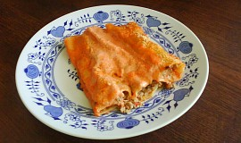 Cannelloni plněné mletým masem