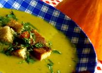 Dýňovo pórková polévka