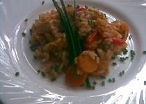 Exotická rýžová pánev