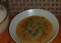 Fazolková polévka s rajčaty