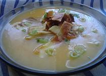 Zeleninová polévka s celestýnskými nudlemi
