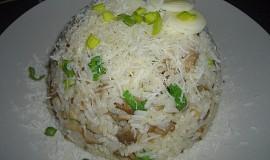 Houbové rizoto s pórkem (po česku)