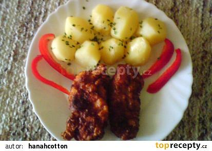 Pikantní kuřecí řízečky