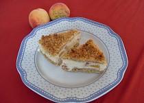 Tvarohový koláč s ořechovo-kokosovou drobenkou