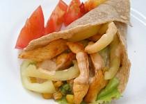 Kuřecí tortilla se zeleninou (dietní)