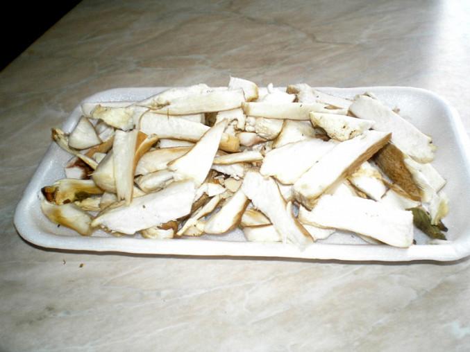 Nožičky z hub