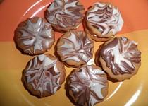 Medová kolečka s čokoládou