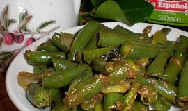Gurmánské fazolky s rybími očky