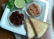 Jikra na ruský způsob + salát z červené řepy