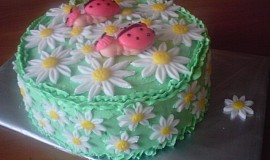 Dětský dort s beruškami