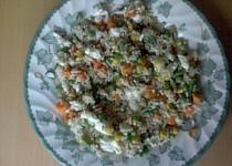 Rýže a pohanka se zeleninou
