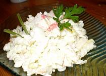 Salát s vůní kraba