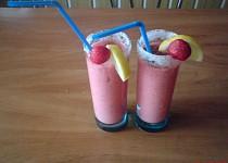Jahodovo-jogurtové osvěžení
