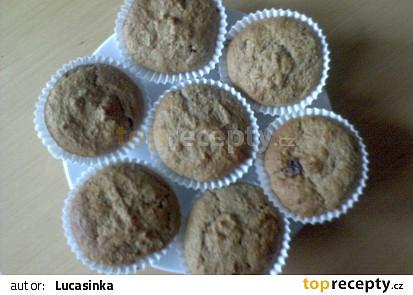 Jogurtove muffiny s cokoladou