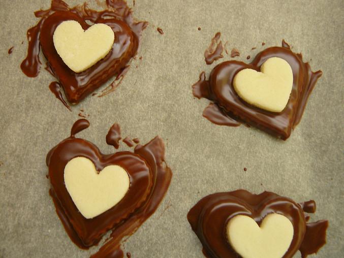 namáčení v čokoládě